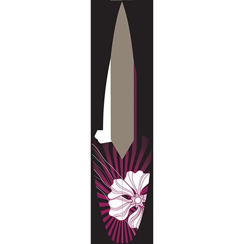 Stripe Flower Board